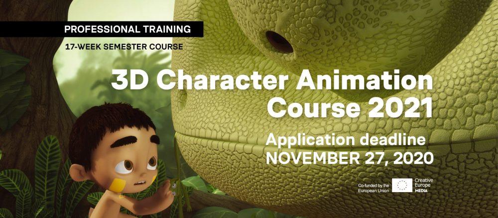 Profesjonalny kurs animacji – 3d Character Animation Workshop