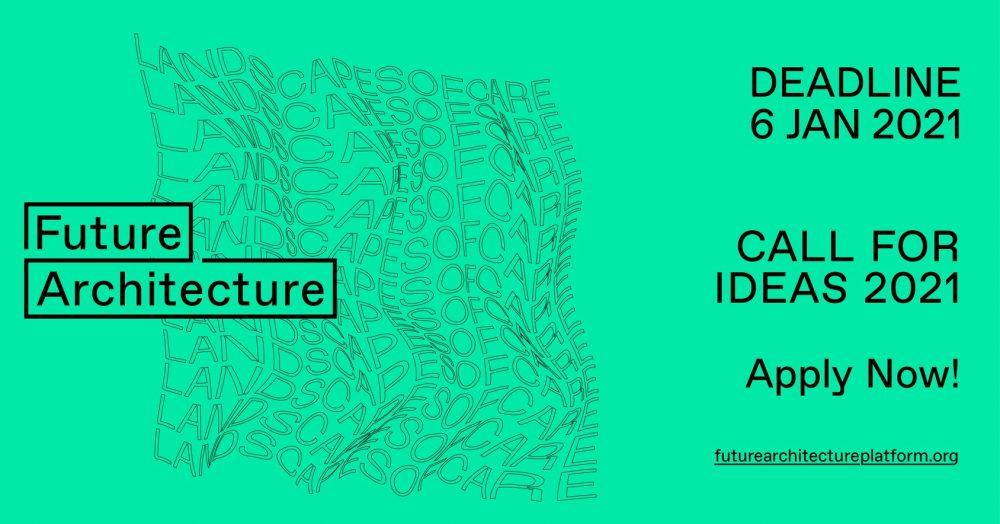 "Future Architecture Platform otwiera nabór ""Landscapes of Care"" na koncepcje architektoniczne"
