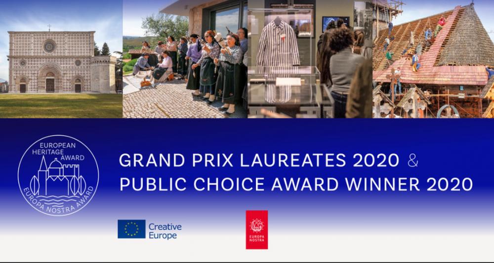 """Najważniejsza europejska nagroda w obszarze dziedzictwa za rok 2020 dla projektów """"Tramontana Network III"""" oraz """"Auschwitz. Nie tak dawno. Nie tak daleko"""""""