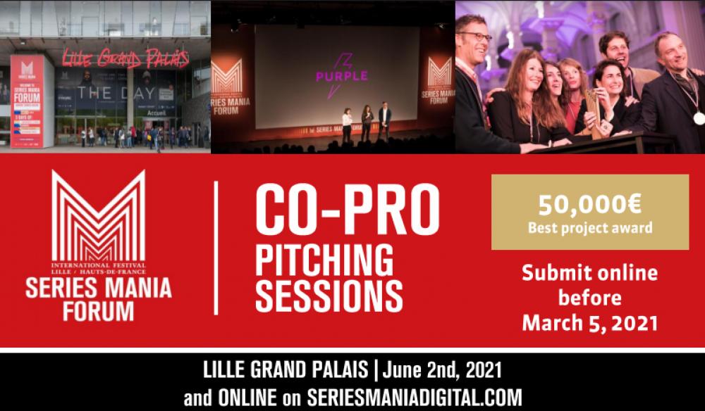 Trwa nabór na Co-Pro Pitching Session w ramach Series Mania Forum 2021