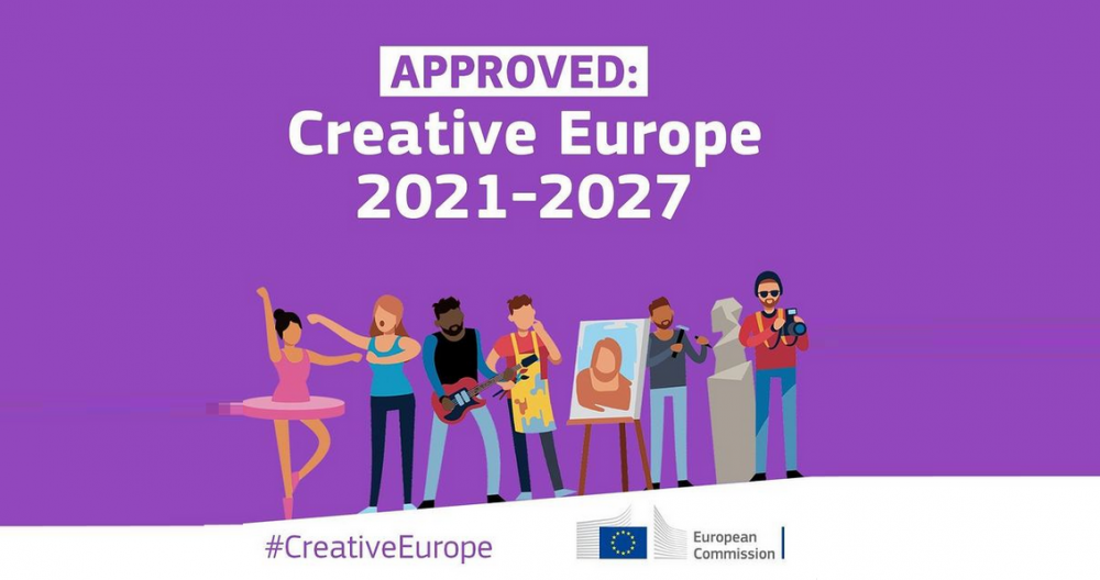 Osiągnięto polityczne porozumienie w sprawie nowej edycji programu Kreatywna Europa na lata 2021-2027