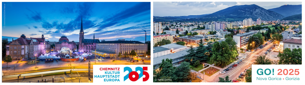 Europejska Stolica Kultury 2025: Chemnitz oraz Nova Gorica