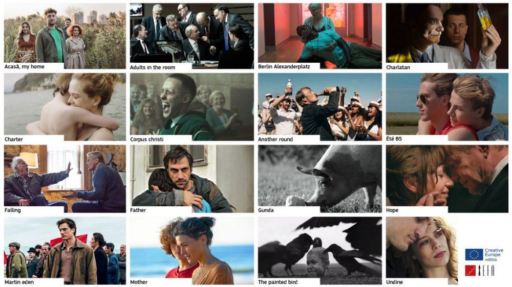 4 filmy ze znakiem MEDIA nagrodzone Europejskimi Nagrodami Filmowymi