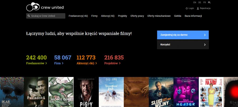 Wystartowała polska wersja językowa bazy Crew United
