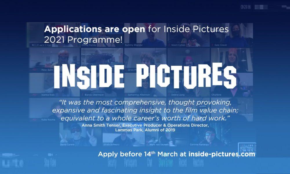 Zapisy na program szkoleniowy Inside Pictures