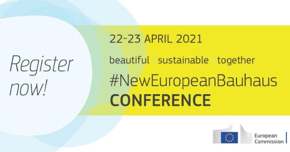 Nowy europejski Bauhaus – konferencja online Komisji Europejskiej