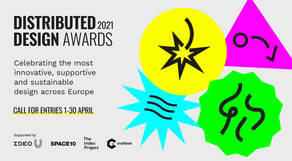 Distributed Design Market Platform ogłasza nabór w ramach czwartej edycji nagród Distributed Design Awards