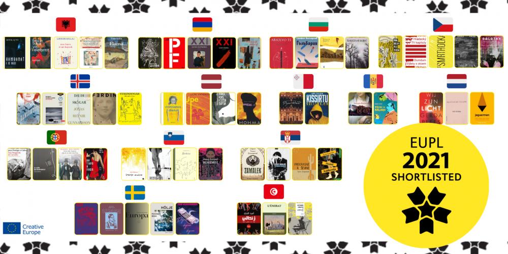 Shortlista finalistów Nagrody Literackiej Unii Europejskiej 2021