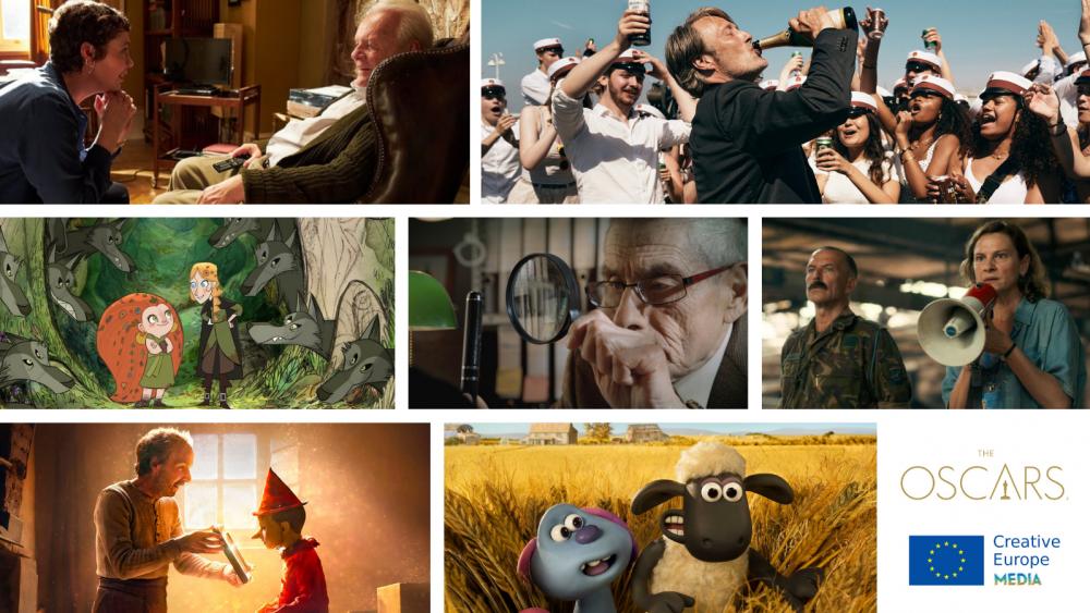 7 filmów dofinansowanych w komponencie MEDIA z nominacjami do Oscara