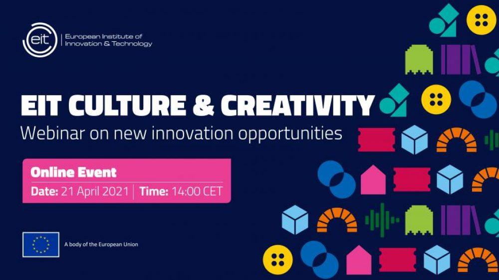 Webinarium dotyczące wspólnoty wiedzy i innowacji w zakresie sektorów kultury i kreatywnego oraz przemysłów kreatywnych