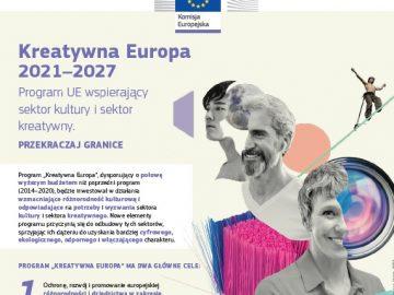 Kreatywna Europa 2021-2027 [plik pdf, 1,1 MB]