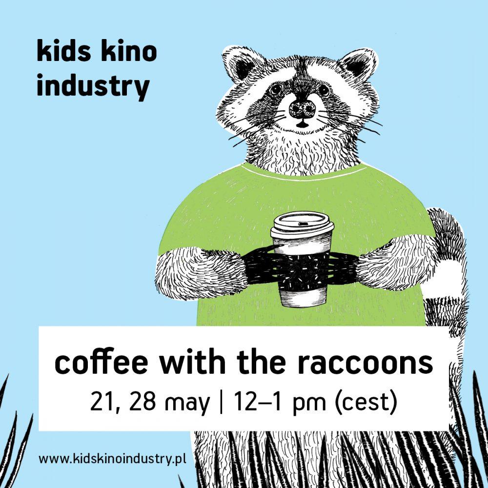 Kids Kino Industry zaprasza na Coffee with the Raccoon