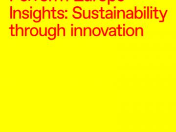 Perform Europe Insights: Sustainability through innovation [plik pdf, 672 KB]
