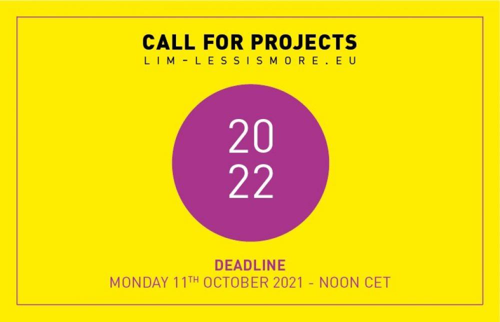 Otwarty nabór do programu LIM Less is More 2022