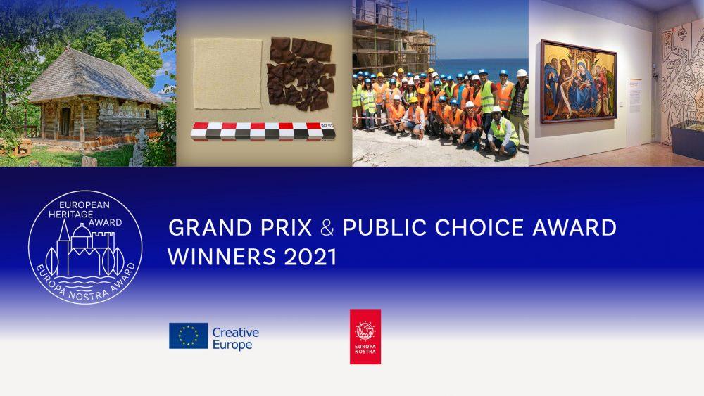 Europa Nostra Awards 2021 | Laureaci Grad Prix i nagrody publiczności