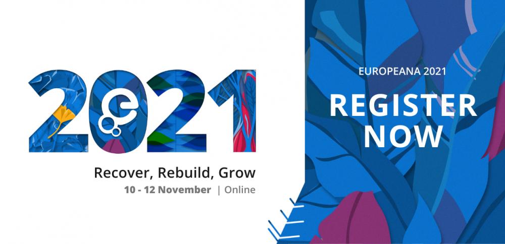 Europeana 2021   konferencja online, 10-12 listopada 2021