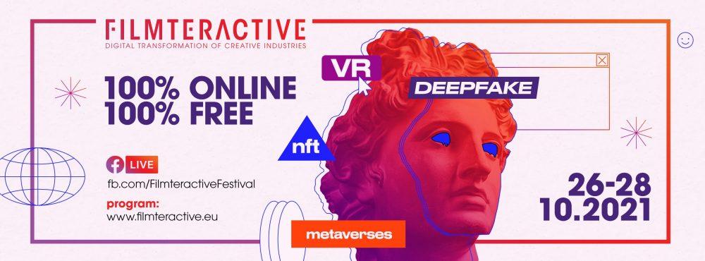 Save the date: 11. edycja Filmteractive (26-28 października 2021)
