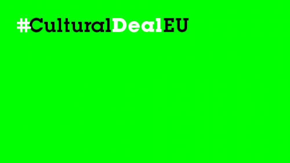 A Cultural Deal for Europe   18 listopada 2021, save the date